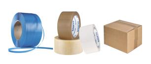 Packtejp, packband och buntning