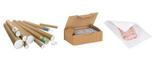 Lådor,tejp och skyddsmaterial