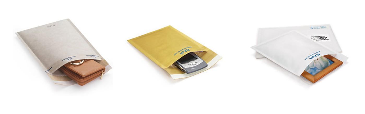 Kuvert sorterar du som brännbart på grund av limmet.